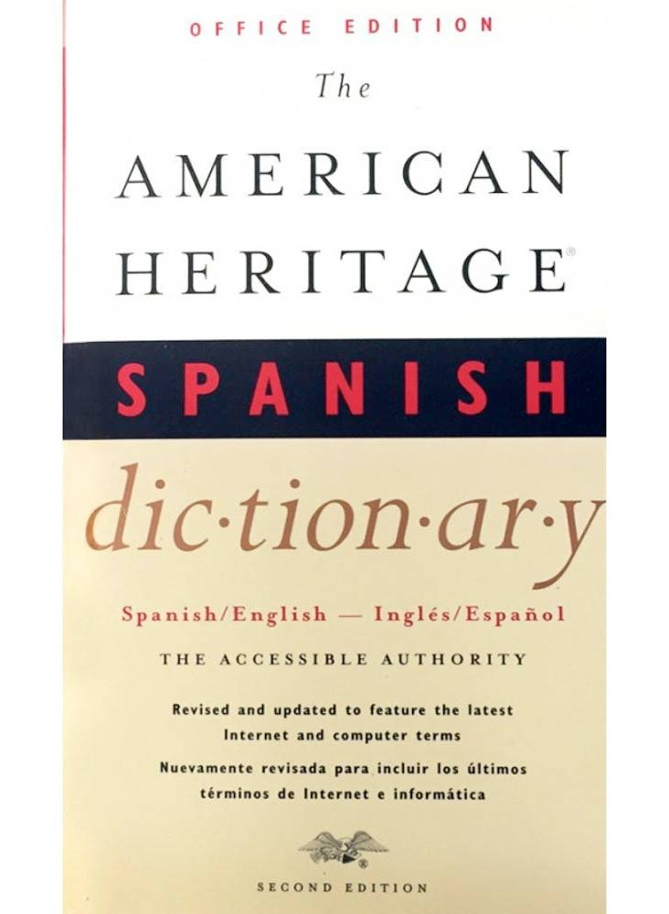 THE CONCISE AMERICAN HERITAGE SPANISH DICTIONARY