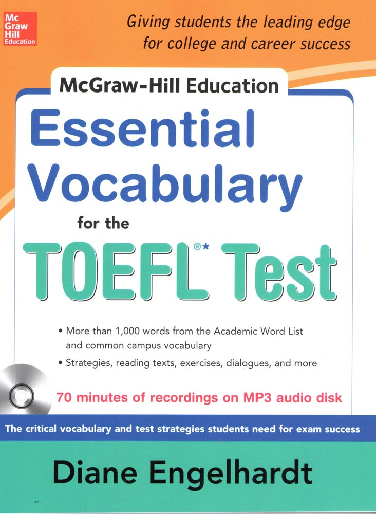 MCGRAW-HILL EDUCATION: ESSENTIAL VOACABULARY FOR THE TOEFL TEST