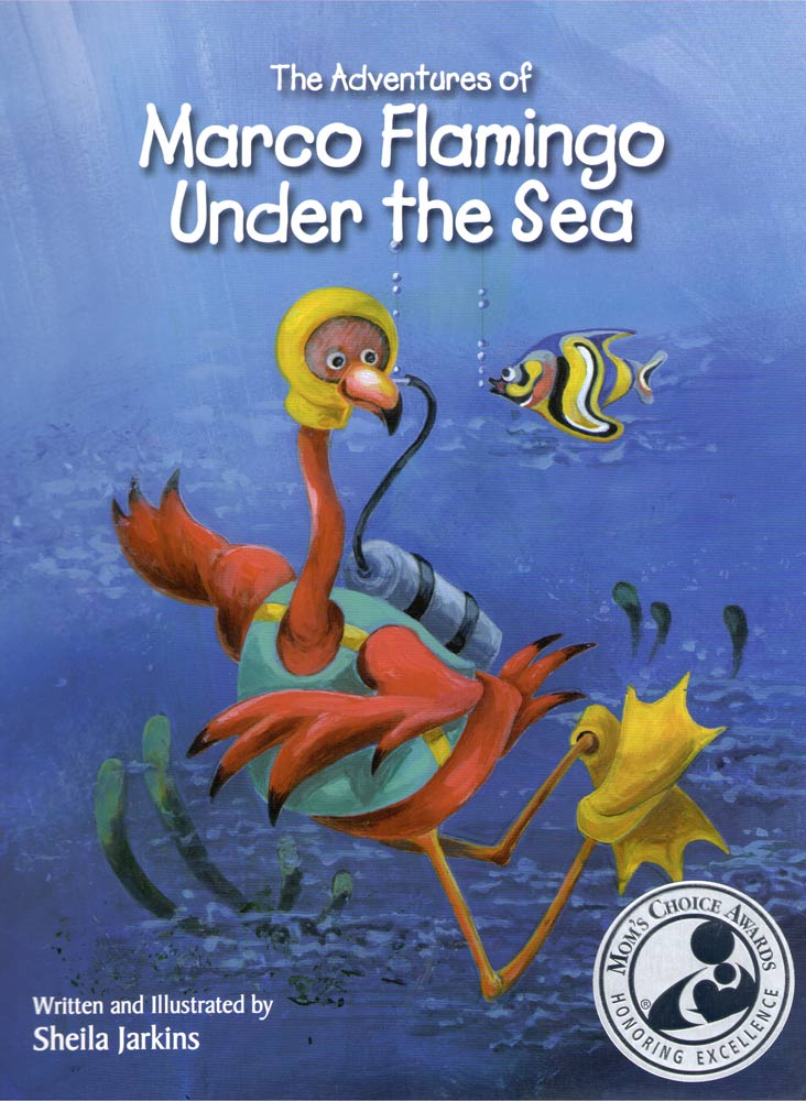 THE ADVENTURES OF MARCO FLAMINGO UNDER THE SEA<br>LAS AVENTURAS SUBMARINAS DE MARCO FLAMENCO