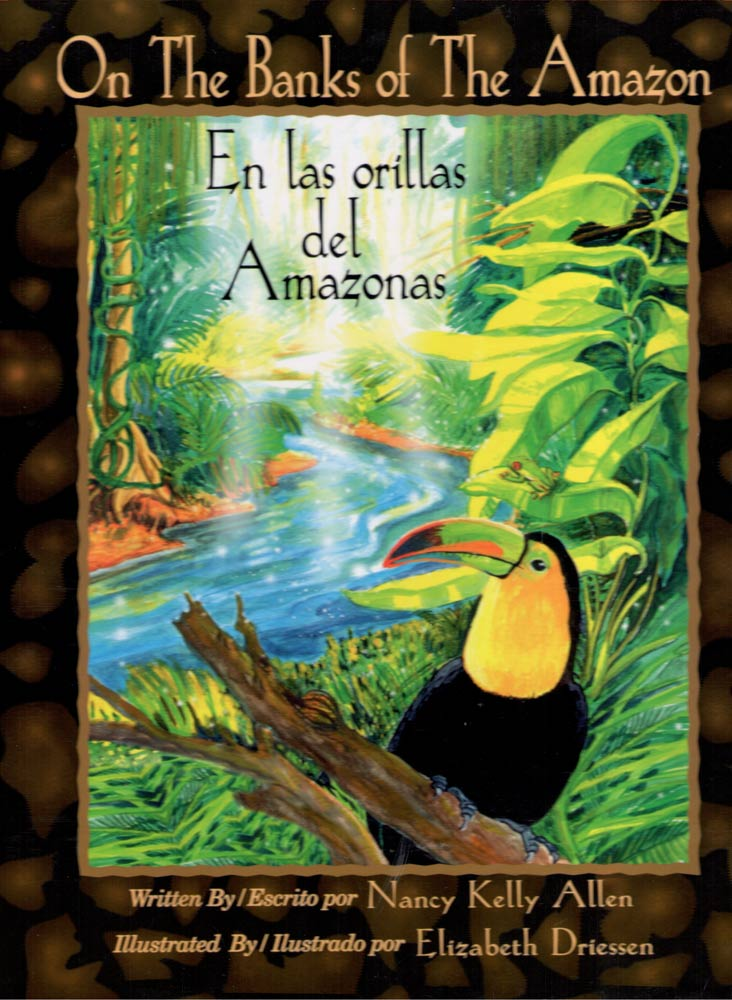 ON THE BANKS OF THE AMAZON<br> EN LAS ORILLAS DEL AMAZONAS