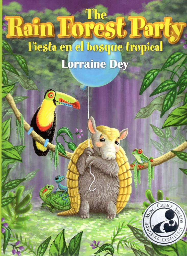 THE RAIN FOREST PARTY<BR>FIESTA EN EL BOSQUE TROPICAL