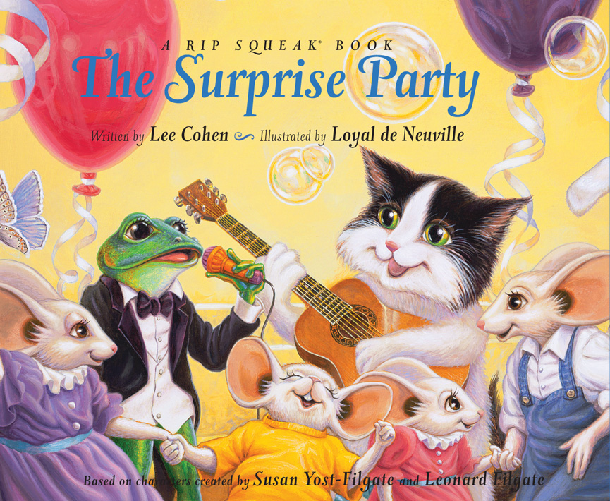 THE SURPRISE PARTY<br>A Rip Squeak Book