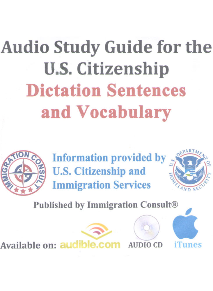 USCIS DICTATION SENTENCES FOR THE NEW NATURALIZATION TEST